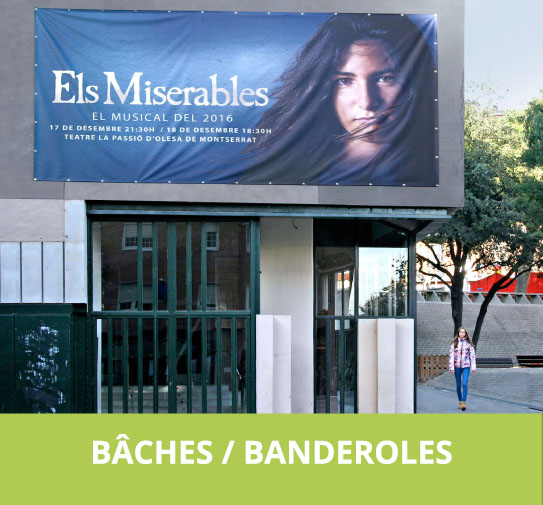 Baches / Banderoles